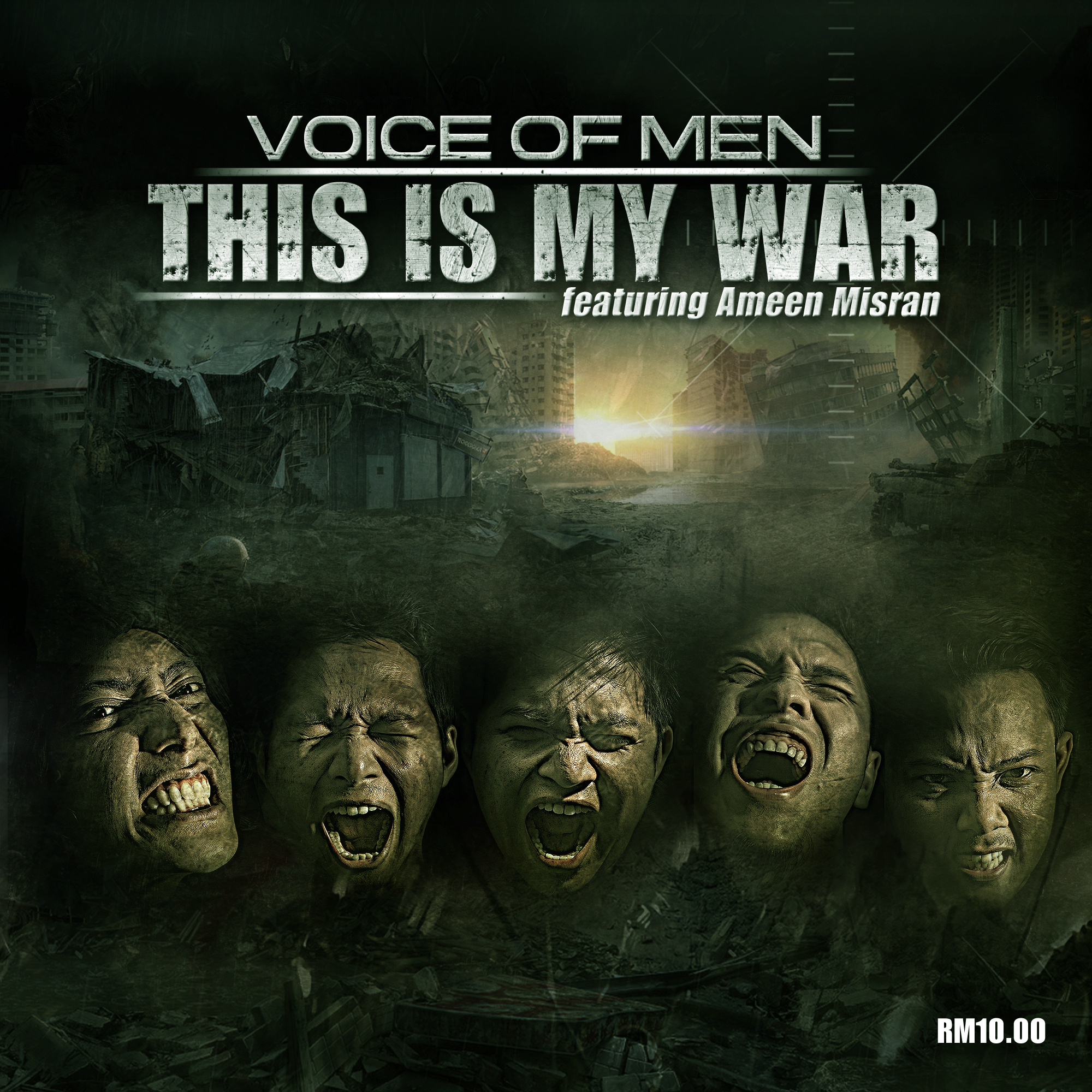 THIS IS MY WAR - FRONT COVER